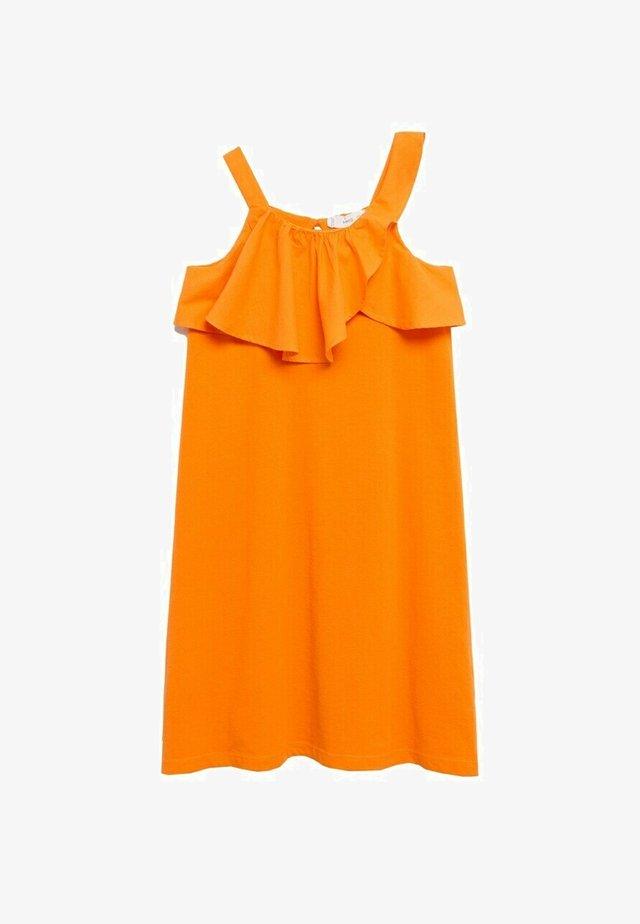 Day dress - oranje