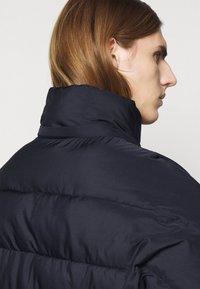 Henrik Vibskov - TILES LONG COAT - Winter jacket - navy - 7