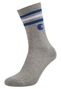 Champion - TRIPLE CREW SOCKS 3 PACK - Sportovní ponožky - navy/white/grey - 1