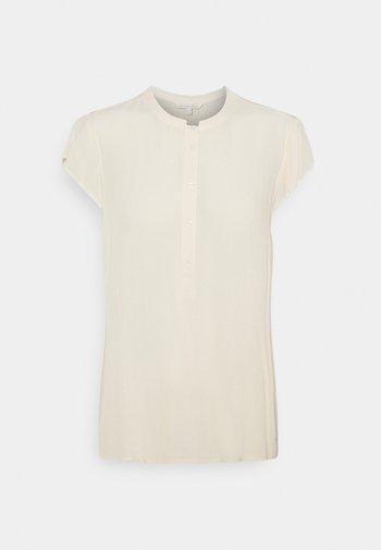EASY TUNIC WITH NECK DETAIL - Tunic - soft creme beige