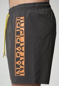 Napapijri - Swimming shorts - dark grey solid - 2