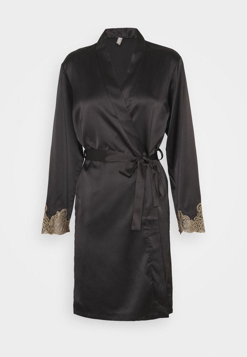 LingaDore - KIMONO - Dressing gown - black insence