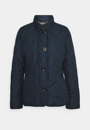 NELSON QUILT - Light jacket - navy/olive mist