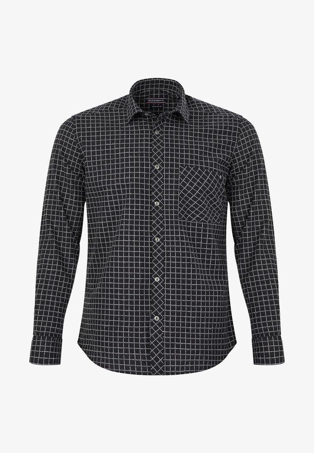 Overhemd - black-ecru