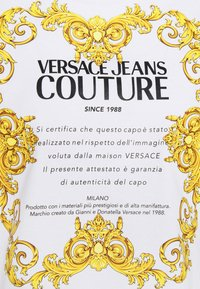 Versace Jeans Couture - LADY  - Triko spotiskem - optical white - 7