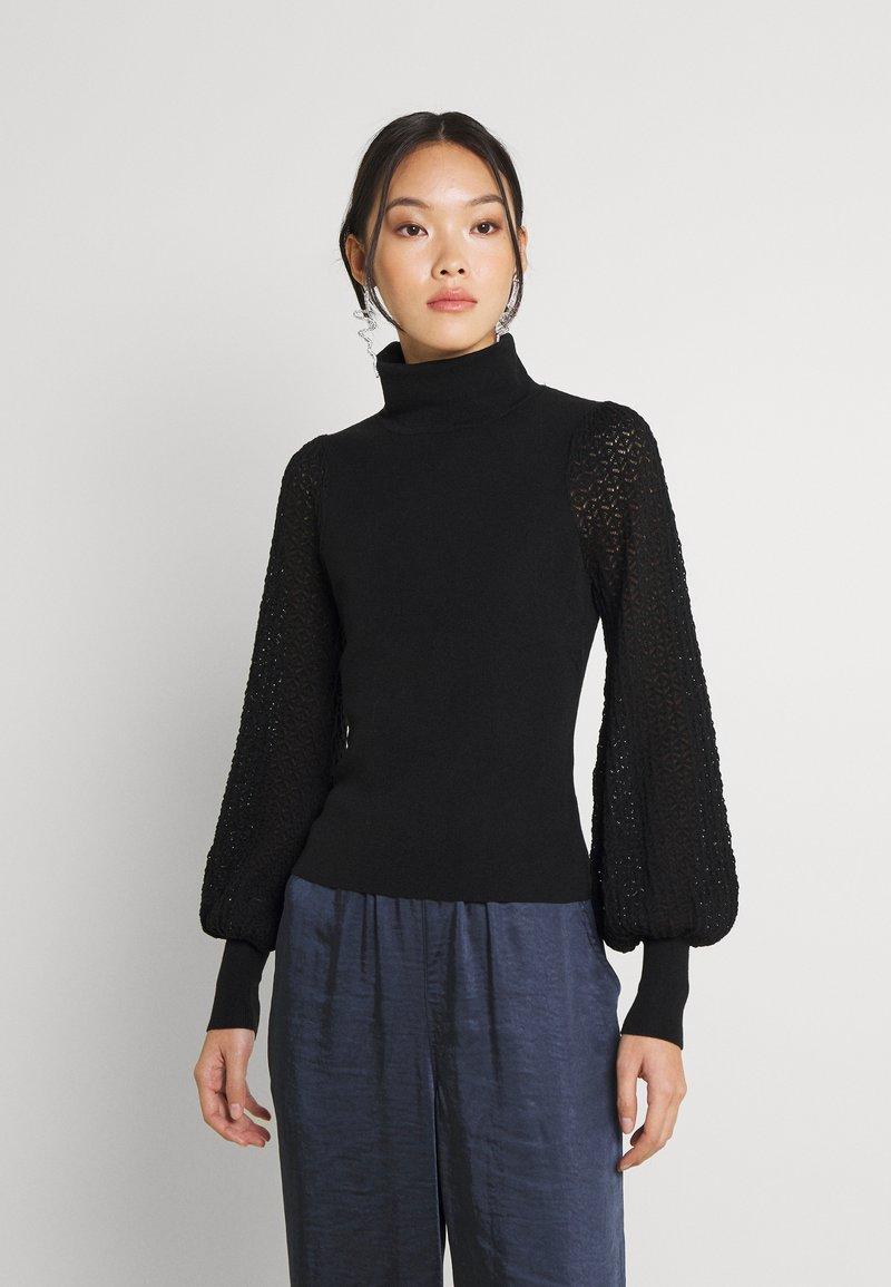 Fashion Union - HARDY - Stickad tröja - black