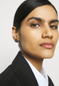 Vivienne Westwood - ROMINA PAVE ORB EARRINGS - Earrings - gunmetal/blue - 0