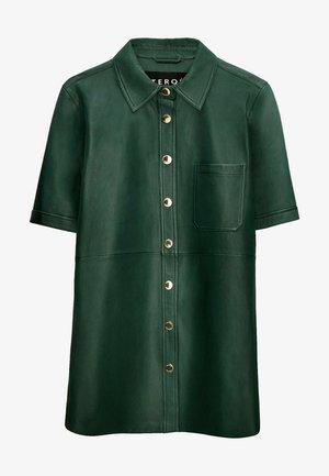 Leren jas - green