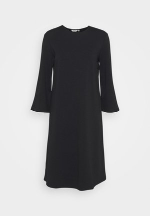 KALEET DRESS - Jersey dress - black