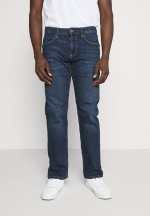 Jeansy Straight Leg - blue dark wash