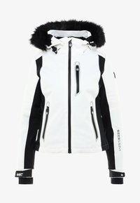 Superdry - SLEEK PISTE SKI JACKET - Ski jacket - white - 10
