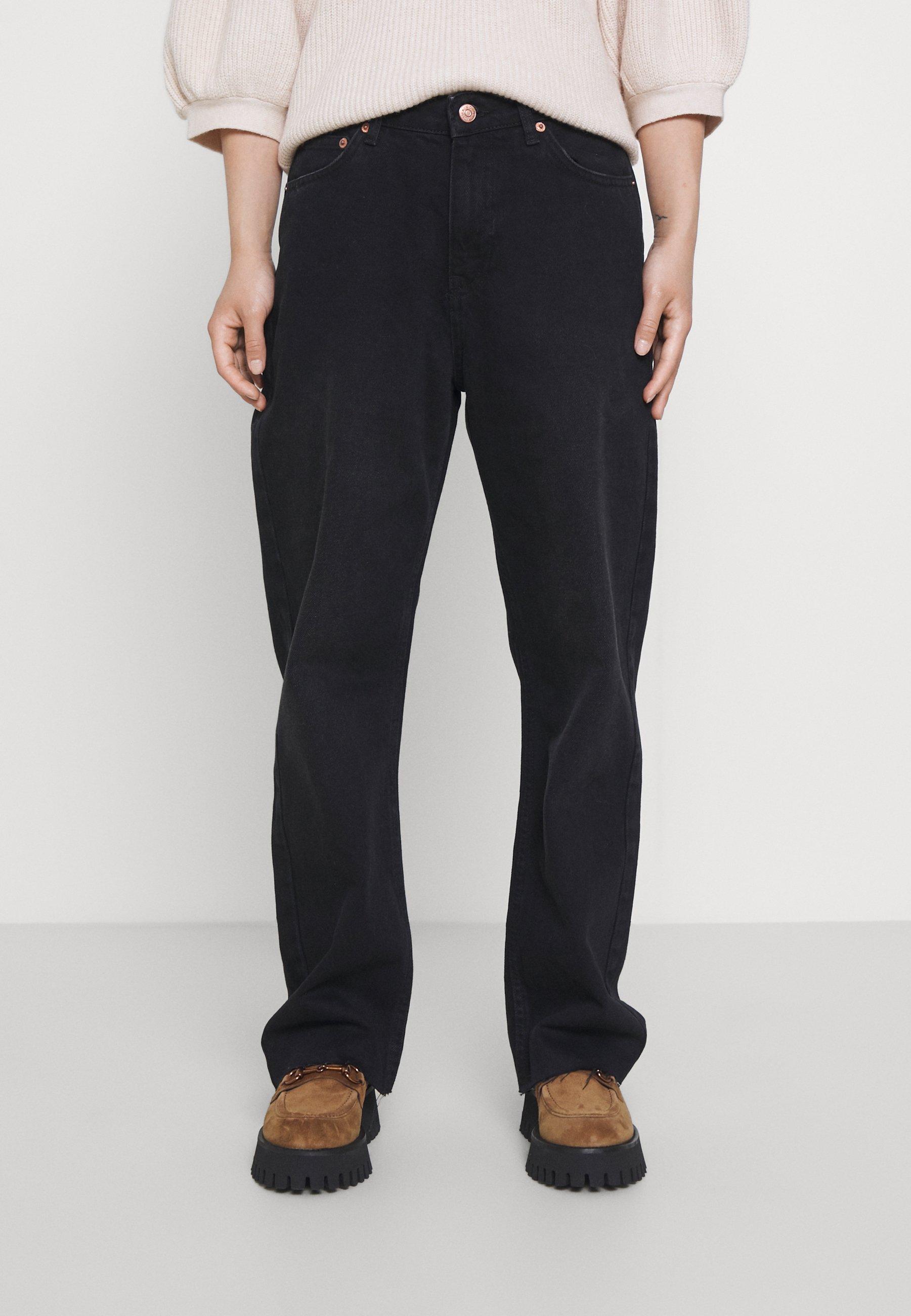 Women HIGH WAIST  - Straight leg jeans