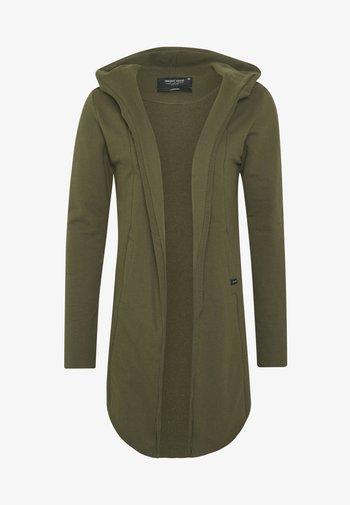 BREKSTAD - Zip-up sweatshirt - dark olive