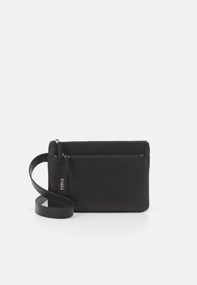 TECHNICAL CROSSBODY POUCH UNISEX - Schoudertas - nero