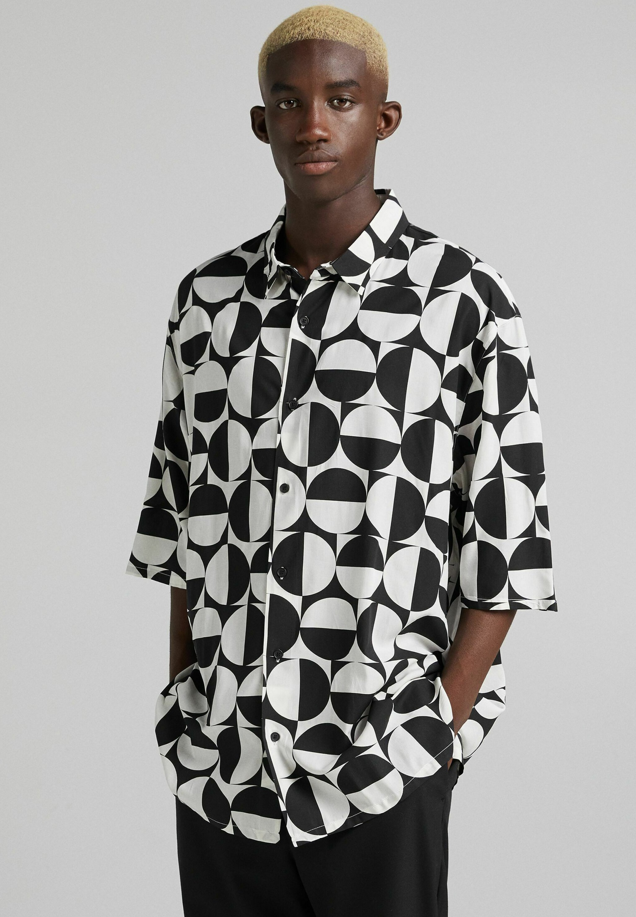 Homme RELAXED FIT MIT PRINT - Chemise