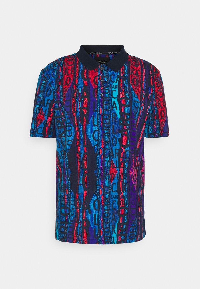 Carlo Colucci - Polo shirt - navy/multi
