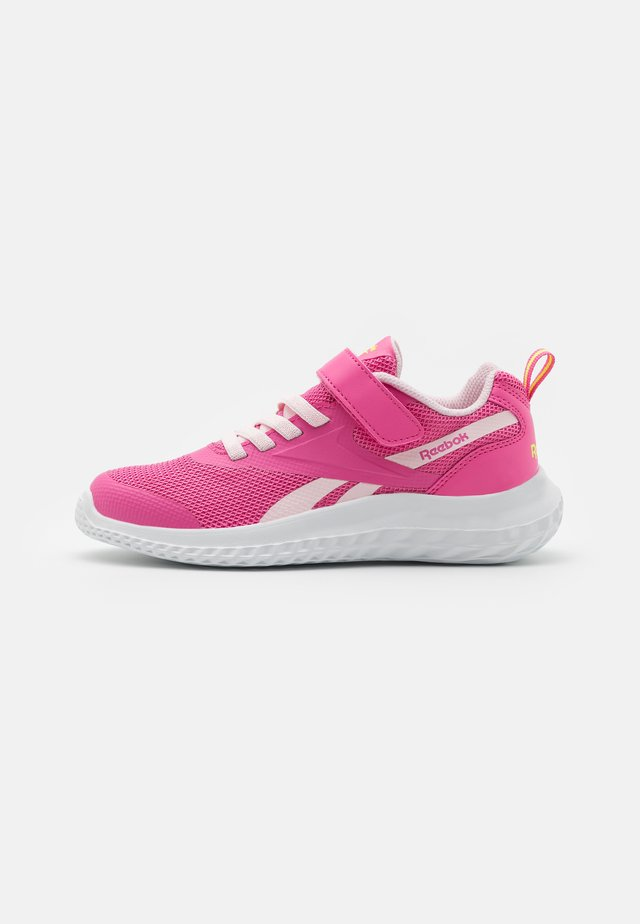 RUSH RUNNER 3.0 ALT UNISEX - Obuwie do biegania treningowe - pink/yellow
