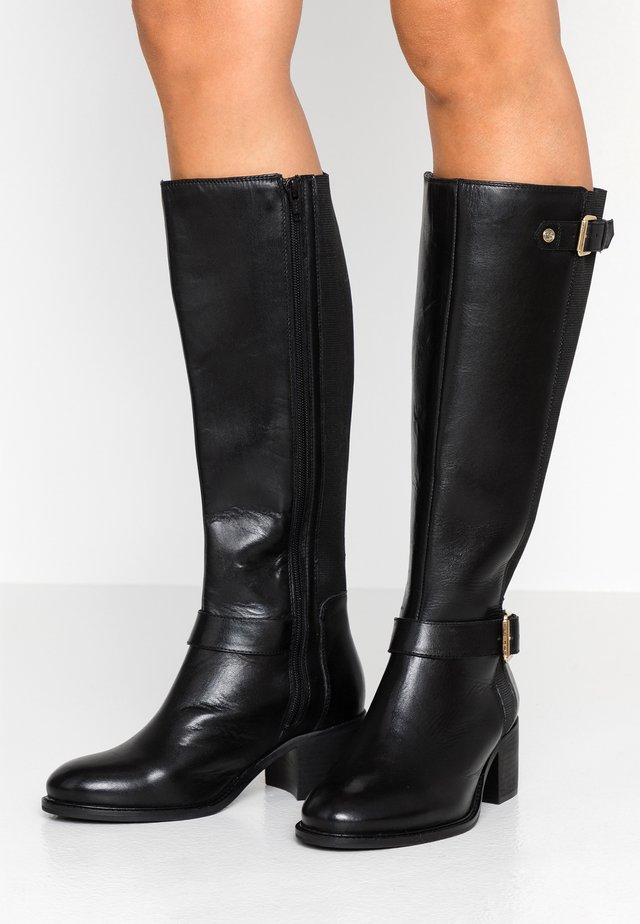 WIDE FIT TILDAA - Boots - black