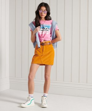 CALI - T-shirt imprimé - fluro pink pastel