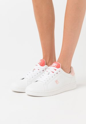 CROSSCOURT 2 - Sneakersy niskie - white/spiced coral