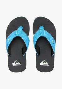 Quiksilver - MOLOKAI ABYSS  - Pool shoes - blue/black/blue - 0