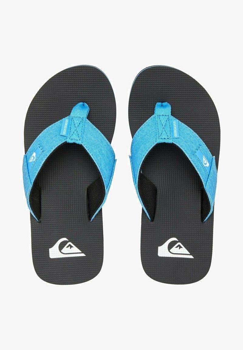 Quiksilver - MOLOKAI ABYSS  - Pool shoes - blue/black/blue