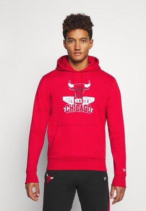 CHICAGO BULLS NBA GRAPHIC HOODY - Klubbkläder - front door red