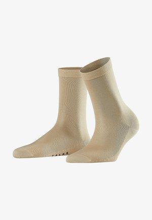 2 PACK SENSUAL SILK - Chaussettes de sport - cream