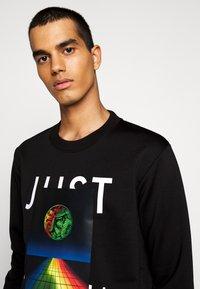 Just Cavalli - FELPA - Sweatshirt - black - 5