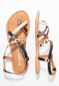 New Look - HAMMOCK - Sandaler m/ tåsplit - multi coloured - 3
