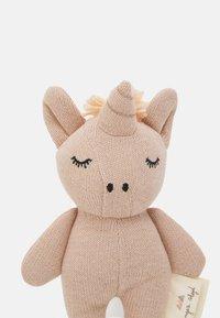 Konges Sløjd - MINI UNICORN UNISEX - Cuddly toy - rose fawn - 2
