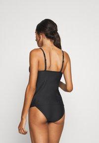 s.Oliver - TANKINI - Bikini top - black - 2