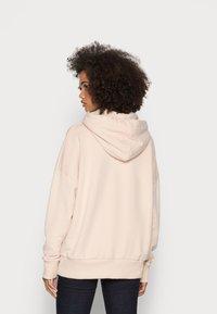 Rich & Royal - ORGANIC FELPA HOODIE - Sweatshirt - beige - 2