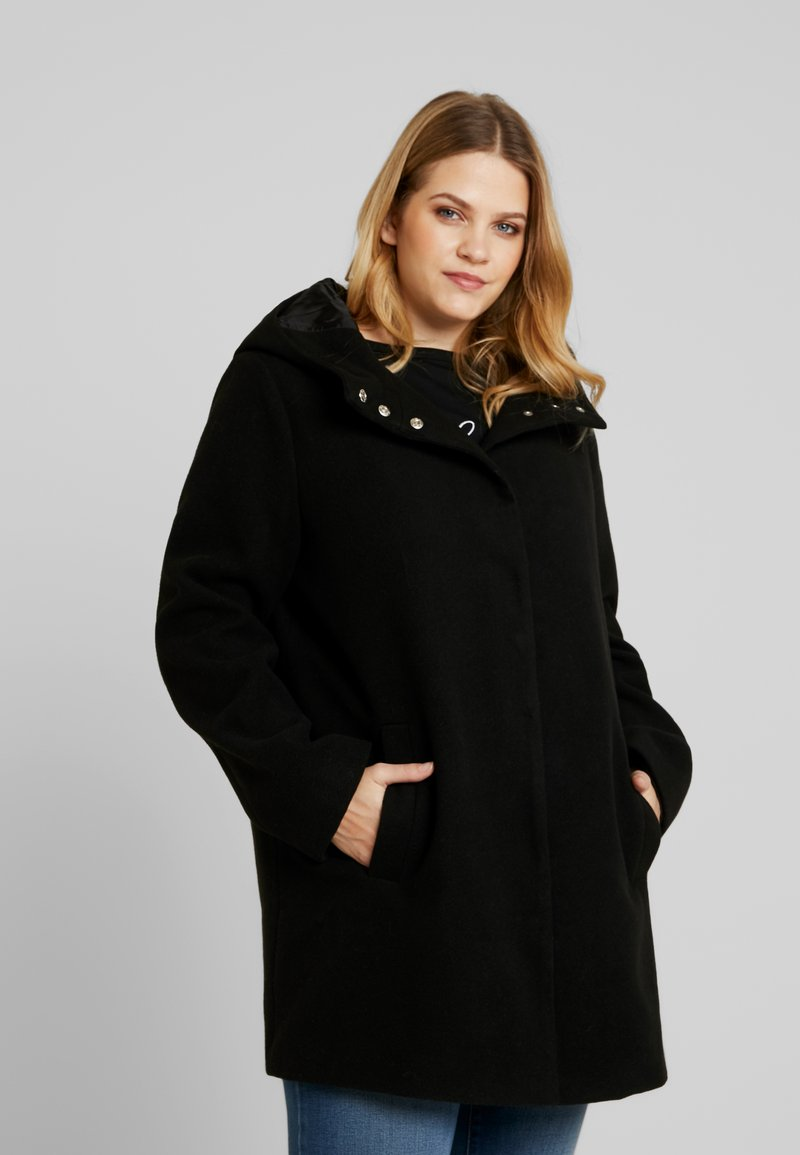 Anna Field Curvy - Short coat - black