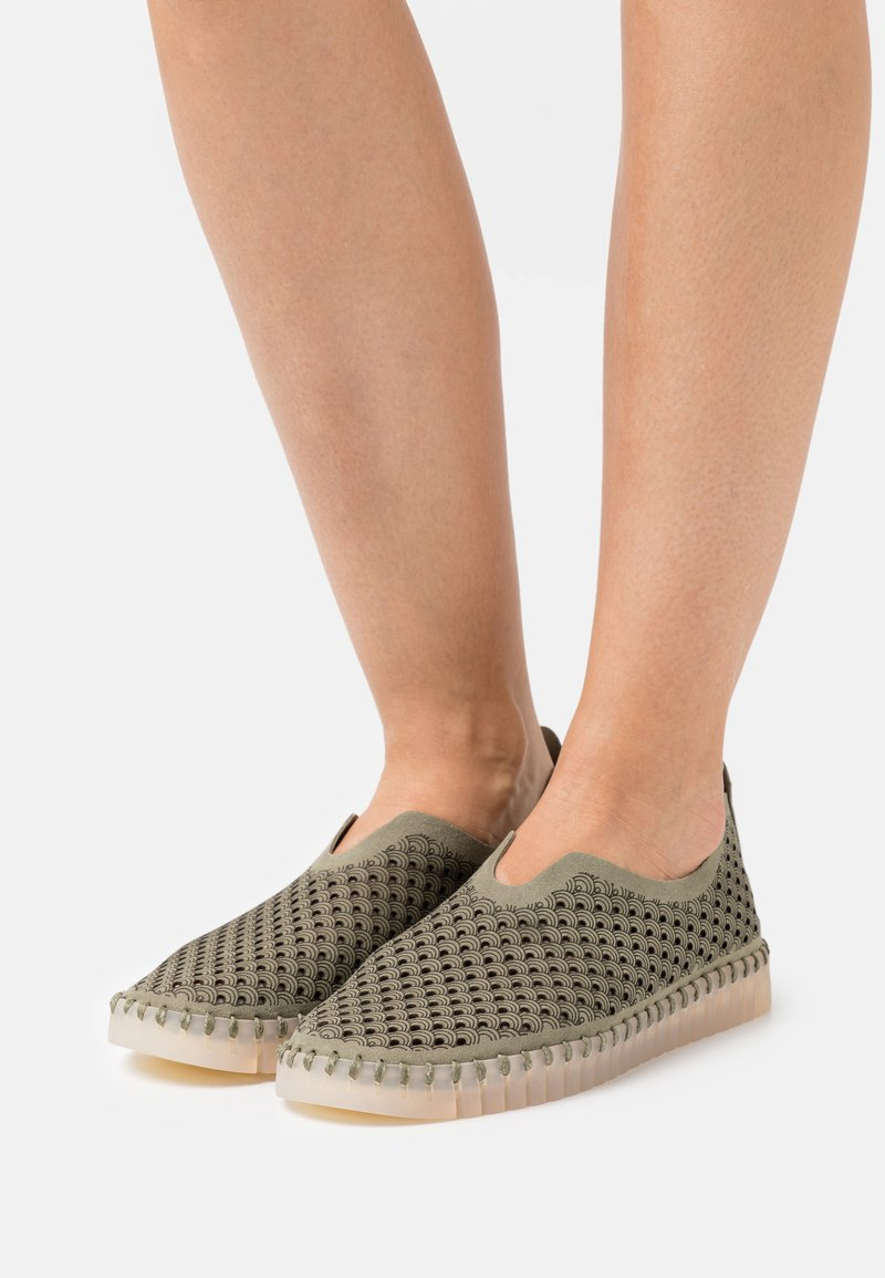 Ilse Jacobsen - TULIP LUX - Slippers - army