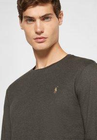 Polo Ralph Lauren - PIMA - Long sleeved top - dark charcoal heather - 4