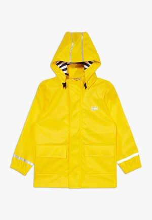 LWJULIO RAIN - Waterproof jacket - dark yellow