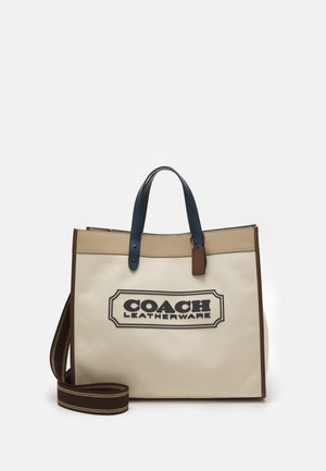FIELD TOTE 40 WITH BADGE UNISEX - Cabas - ji/natural/multi
