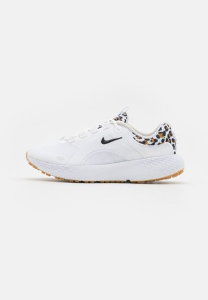 REACT ESCAPE - Nøytrale løpesko - white/black/light bone/wheat/light brown