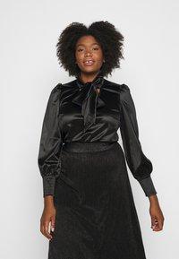 Vero Moda Curve - VMNIMI  - Blouse - black - 0