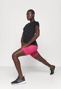 adidas Performance - PERFORMANCE TEE - Sports shirt - black - 1