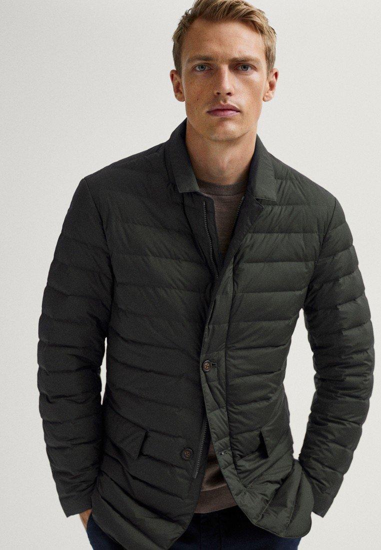 Massimo Dutti - Winter jacket - khaki