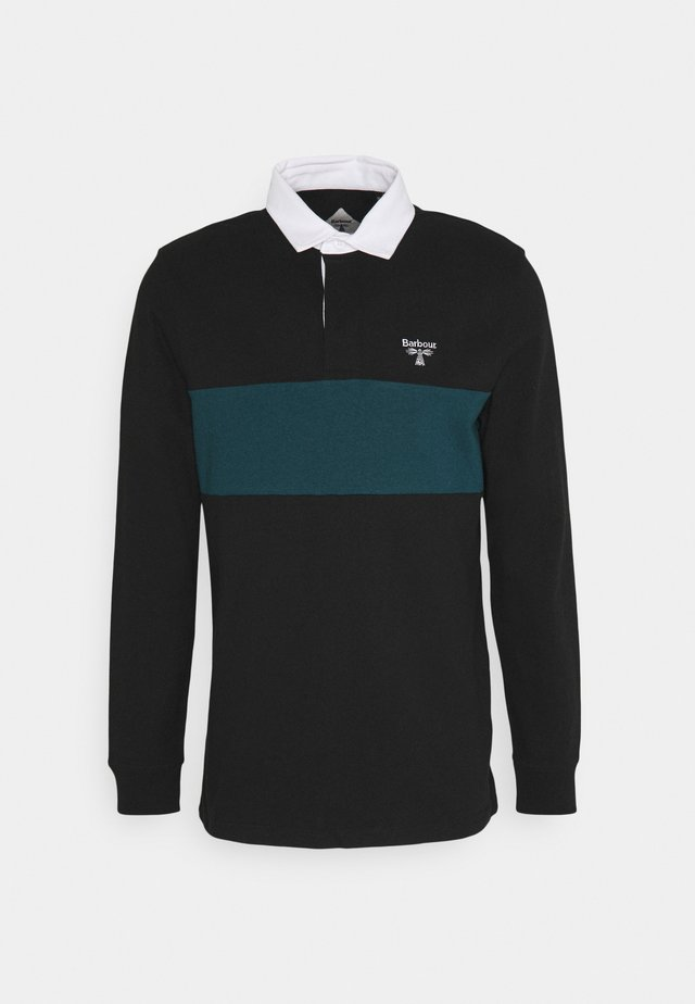 DENTON - Poloshirts - black