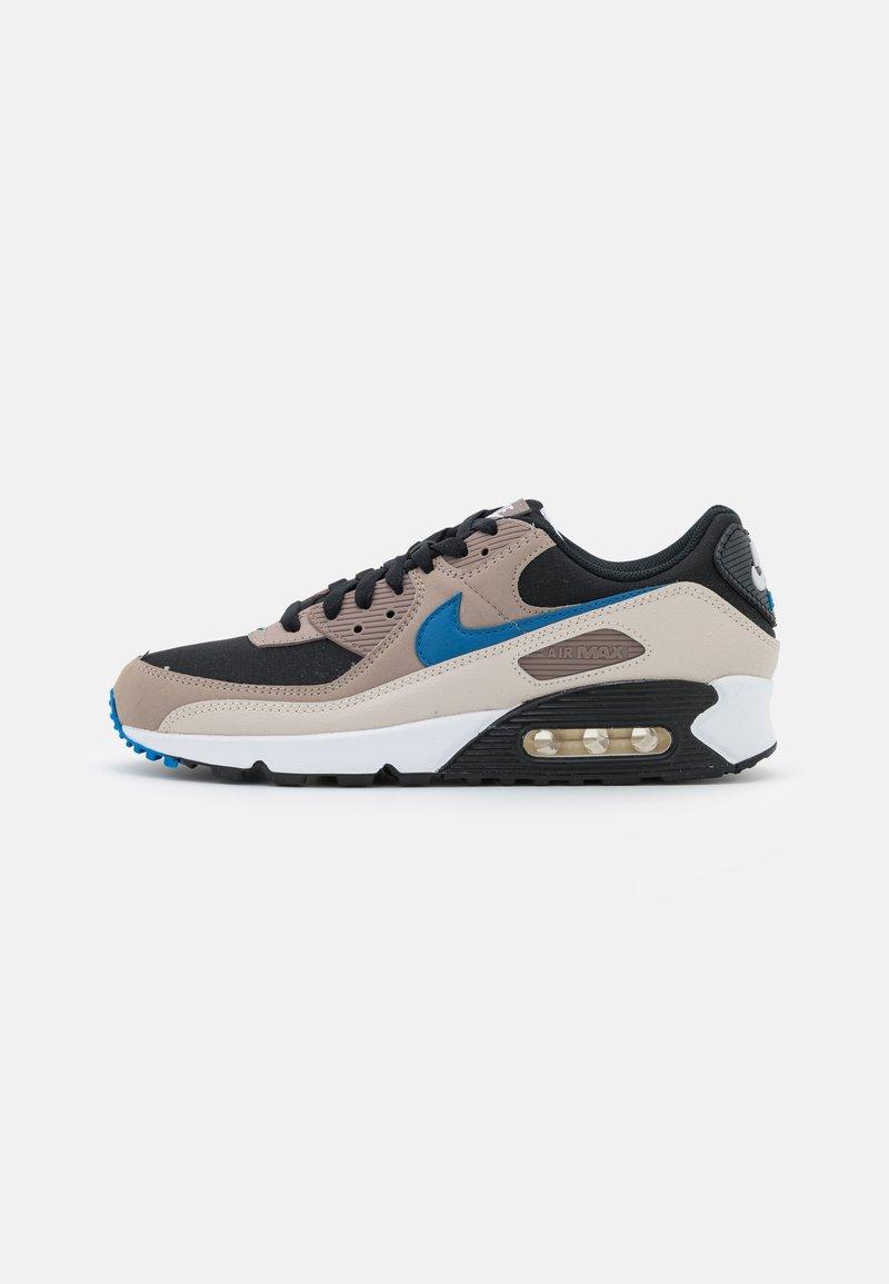 Nike Sportswear - AIR MAX 90 - Sneakers laag - black/blue slate/taupe haze/malt/desert sand/white