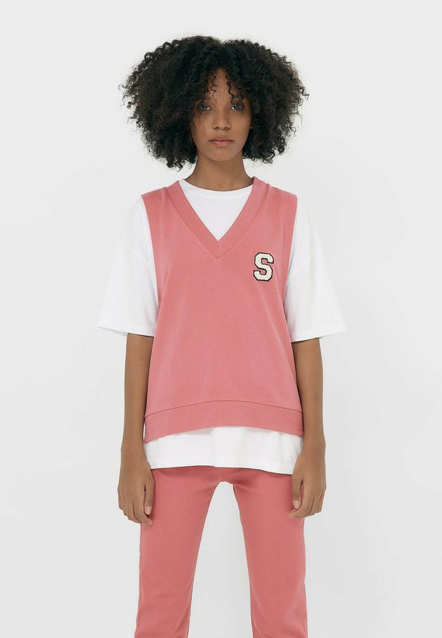MIT PATCH  - Top - pink