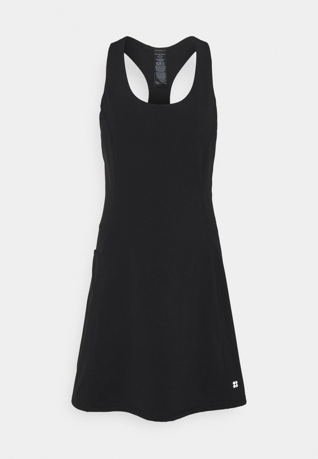 POWER WORKOUT DRESS - Sports dress - black