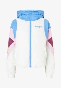 Wrangler - RAINBOW PUFFER - Winter jacket - worn white - 4