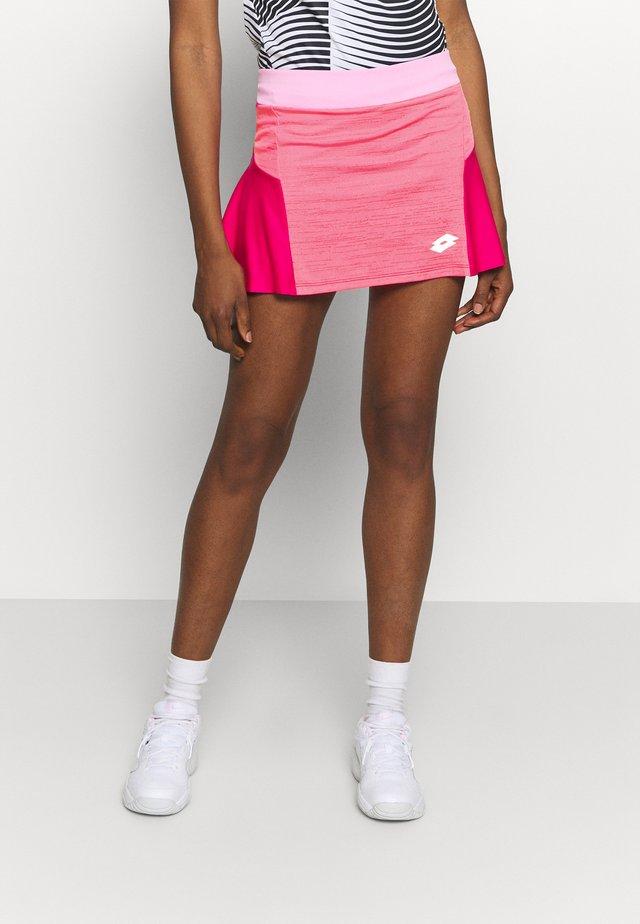 TOP TEN SKIRT - Sportkjol - vivid fuchsia/glamour pink