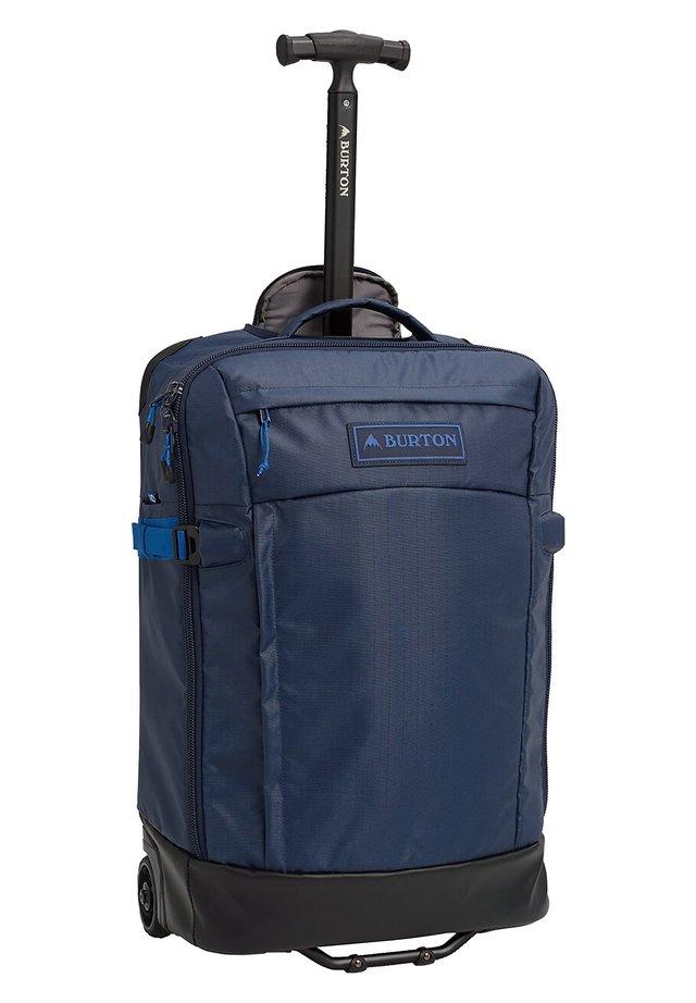 Wheeled suitcase - dress blue coated [400]