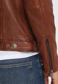 Gipsy - CAMREN LASYV - Leather jacket - cognac - 6